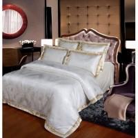 同盛祥 简欧时尚-米白 米白色床品套件/四件套/多件套